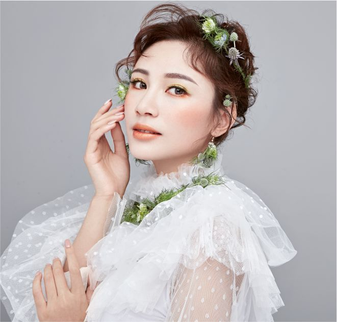 轻氧森系新娘