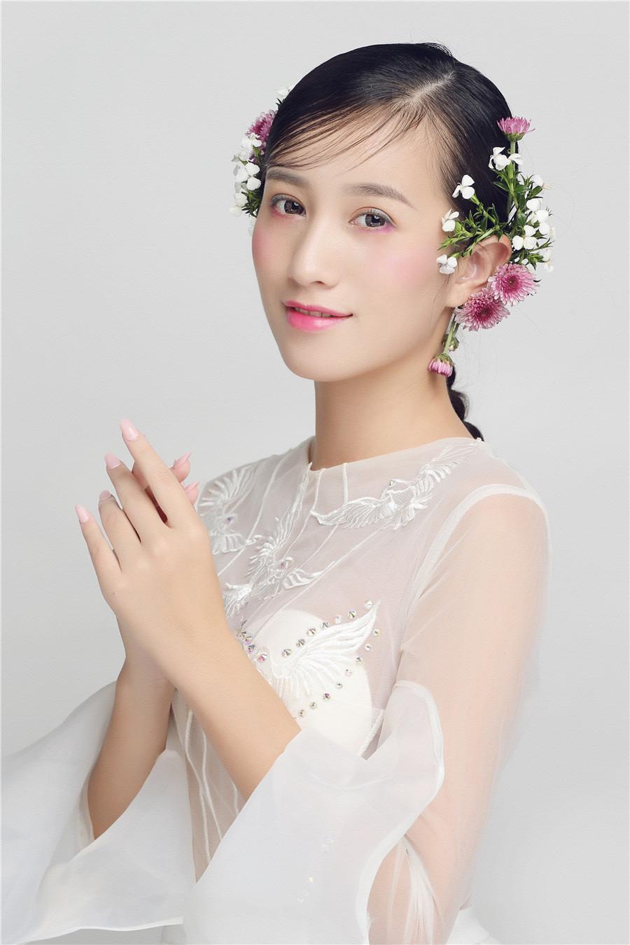 花样鲜花新娘