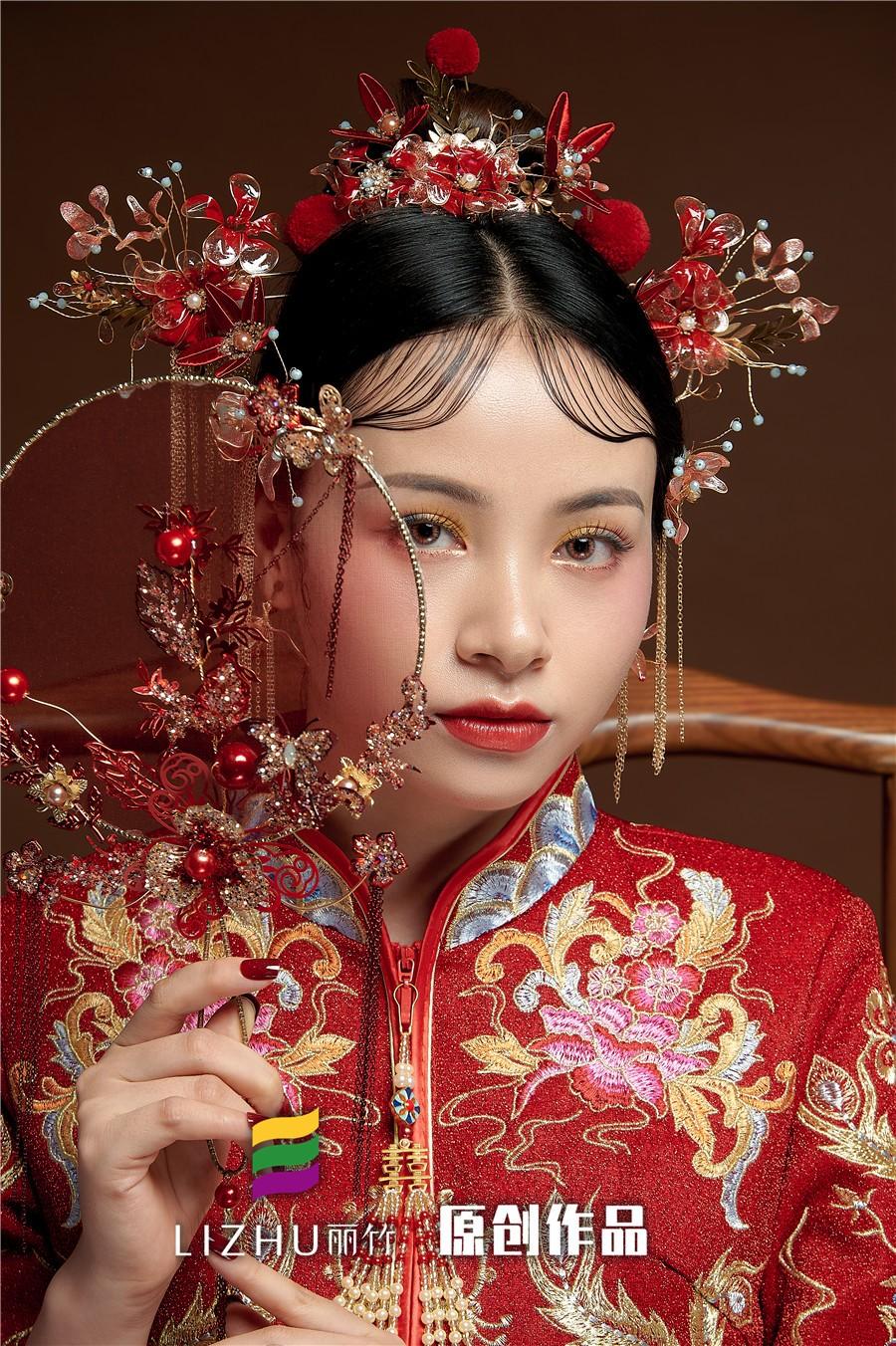 中式红妆新娘造型