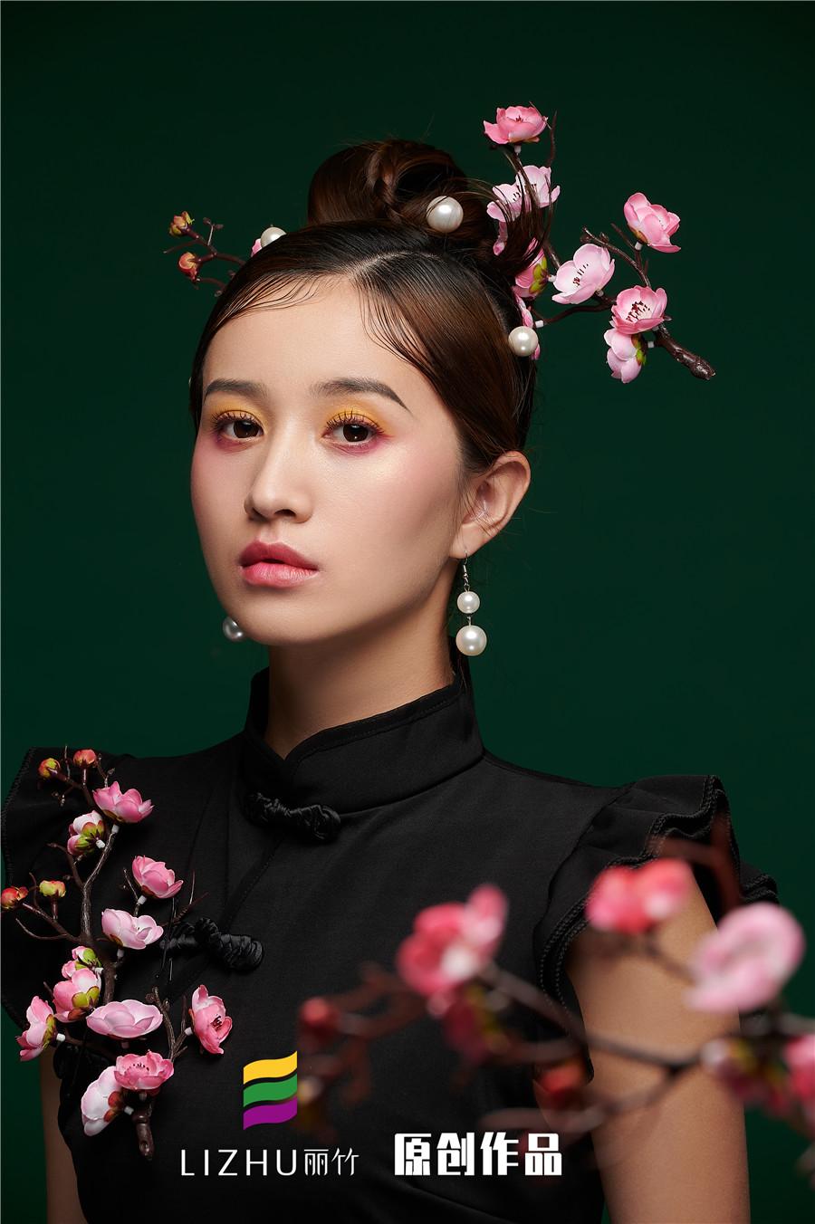 国风旗袍造型