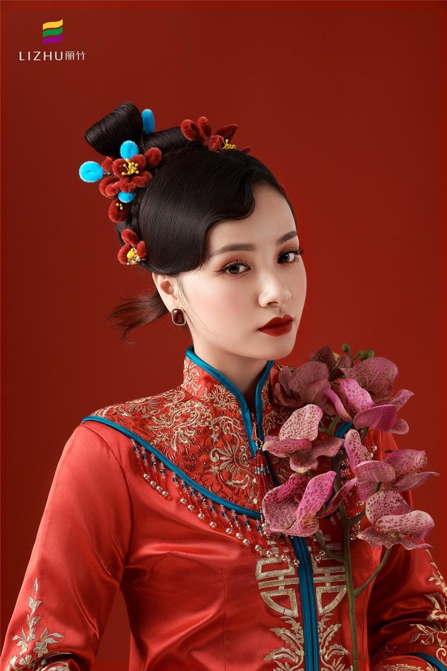 国风中式新娘造型