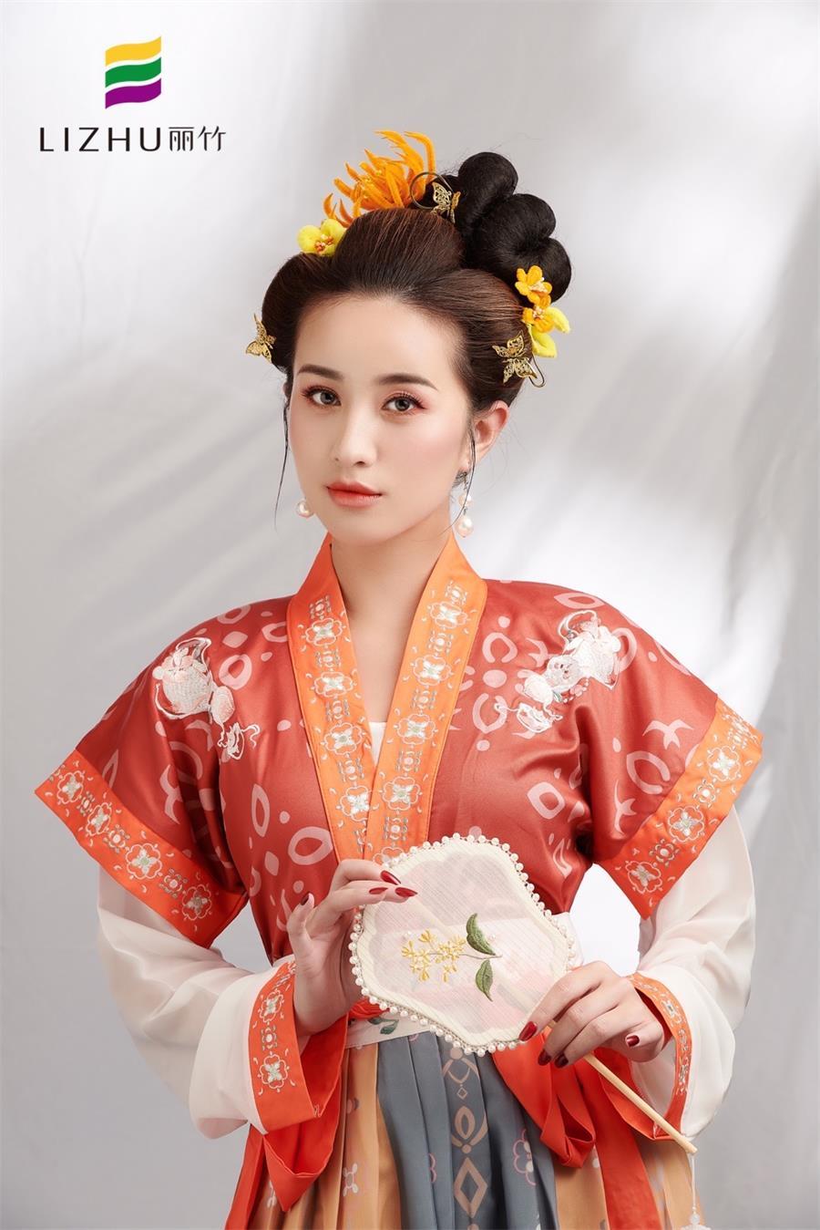 古代美人妆容造型